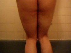 Bath-time Booty Antics