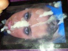 Hot Blonde Cheerleader Facial