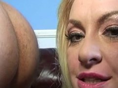 Big Tit Ass Eating Blonde MILF