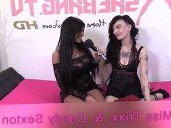Shebang.TV - Candy Sexton & Miss Trixx