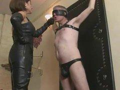 Ella Kross:Slapping My Slave's Face!