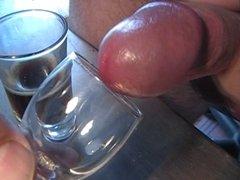 cumshot closeups uncut cock foreskin jerkoff  masturbation