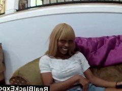 Blonde Black Hottie Wants To Please