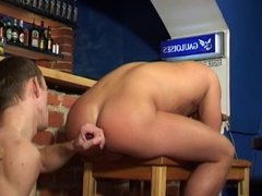 Two Gays Met At A Restaurant And Having Fun Sex