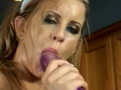 Amateur - Hot Blond Vegetable (Soup) Insertions