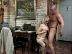 Mature woman and young man - 34