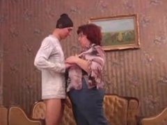 Russian MILF and guy - 33