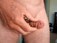 Cock control 1 lace through frenum piercing