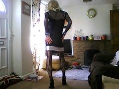 lil black clubbing dress