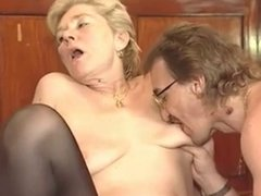 Mature woman and young man - 36
