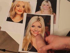 Holly willoughby Fearne cotton tribute
