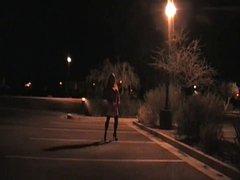 TAMMY FELLATRIX IN NIGHT TIME STROLL