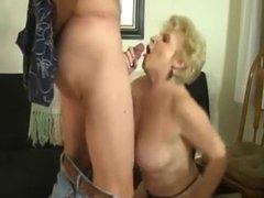 Mature swinger wife really loves sex