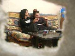 Russian whore. Hidden cam