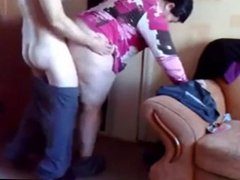Hidden Camera #4 (Fat Mom Bent Over)