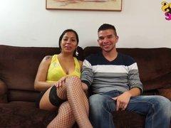 Max y su caliente novia Sheryl para los Chicos del cable