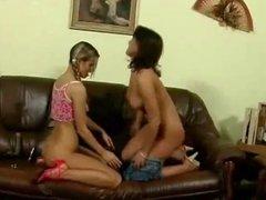Hot Teen Lesbian Threesome