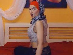 8 MIN Full Hijab Turbanli muslima