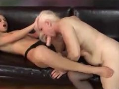 Tasty Young Thant (TYT) straps a mature woman