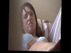 Girlfriend caught masturbating