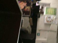 Fapping at the internet cafe - Jalandomela en el ciber