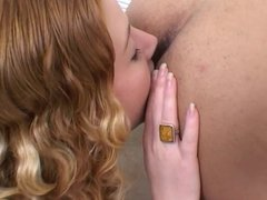 Redhead Teen Cherry Lick's Dude's Asshole