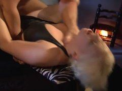Blonde takes a hard fuck