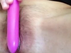 rubbing that hot gaping mommy hole for daddy