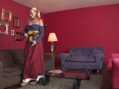 blond teen cosplay sex