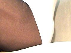 crossdresser pantyhose legs 024