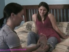 Abigail's First Foot Worship (Part 1)