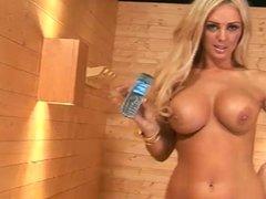 Tori Lee in the Sauna