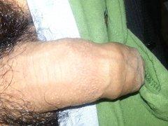 My Un-Cut Cock Growing Watching Xhamster Porn