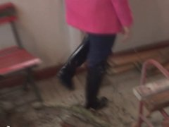 Swing in Rubber Boots