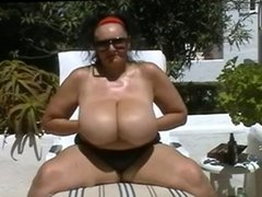 Mature BBW with Big Tits