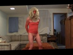 Twerking Sissy CD Strip Dances and Fucks