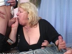 Double fun for huge grandma