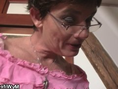 Cock-hungry bitch seduces not her son in law