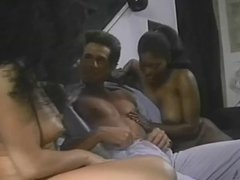Ebony Ayes, Raven Richards & Peter North threesome