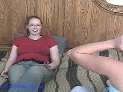 Tara Gets Feet Worshiped (Part 1)