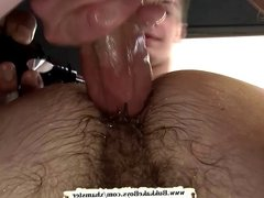 Blue eyed stud's asshole is too tight for their fat cocks