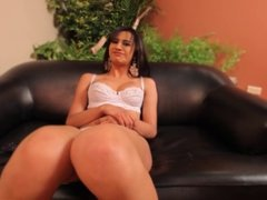Shemale's sweet tight ass gets fucked