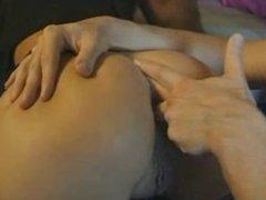 Vintage Big Tits Blonde GangBang DP