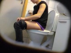 Amateur teen toilet pussy ass hidden spy cam voyeur nude 6