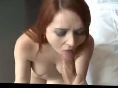 MRY - curvy redhead anal smashed for creampie