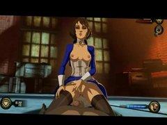 BioShock Elizabeth sex game