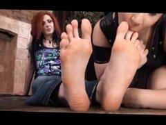 Lesbian Foot Worship 1
