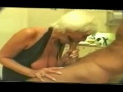 Granny oral talent and couple creampie
