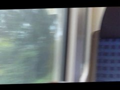 Public Blowjob im Zug