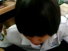 malay budak sekolah syok